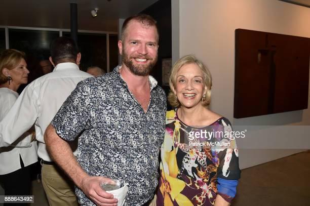 John Bennett and Marijean Miyar attend the Marcelo Bonevardi / The Miami Rail Celebration at Miami Design District on December 8 2017 in Miami Florida
