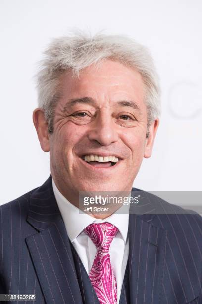 John Bercow attends the Nordoff Robbins Boxing Dinner 2019 on November 18, 2019 in London, England.