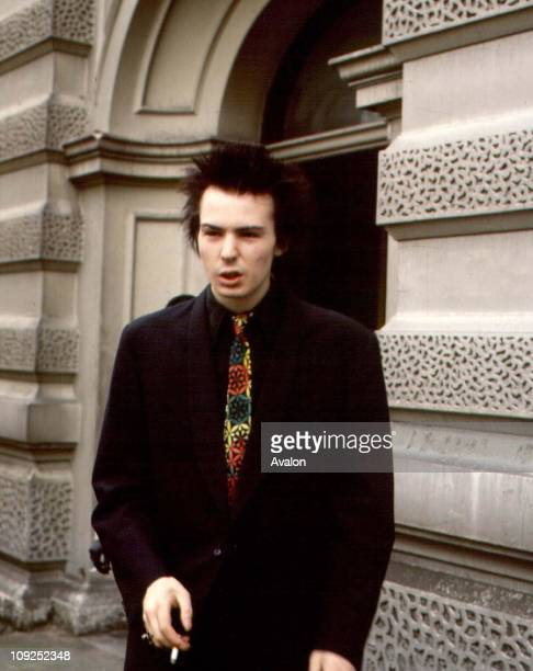 John Beverley Sid Vicious British Pop Singer Member of the 'Sex Pistols'