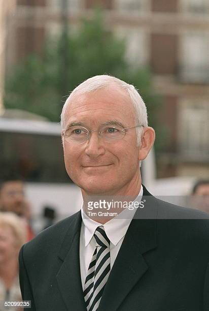 John Birt Directorgeneral Of The Bbc Attends The Memorial Service For Jill Dando In London