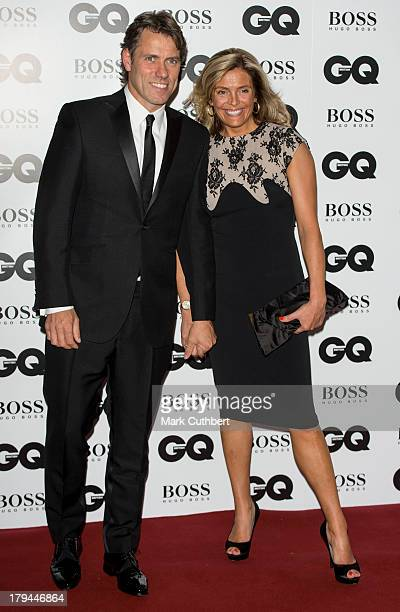 John Bishop and Melanie Bishop attend the GQ Men of the Year awards at The Royal Opera House on September 3 2013 in London England
