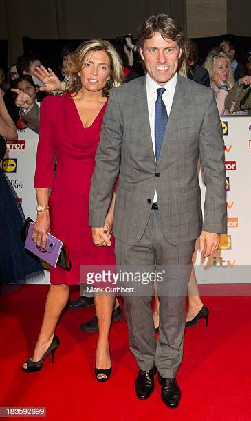 John Bishop and Melanie Bishop attend the Pride of Britain awards at Grosvenor House on October 7 2013 in London England