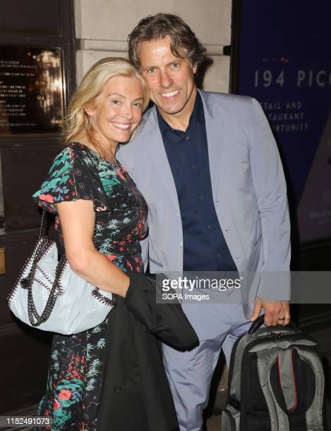 John Bishop and Melanie Bishop attending the RSPCA Animal Champions Honours at BAFTA in London