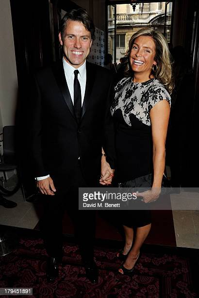 John Bishop and wife Melanie Bishop arrive at the GQ Men of the Year awards at The Royal Opera House on September 3 2013 in London England