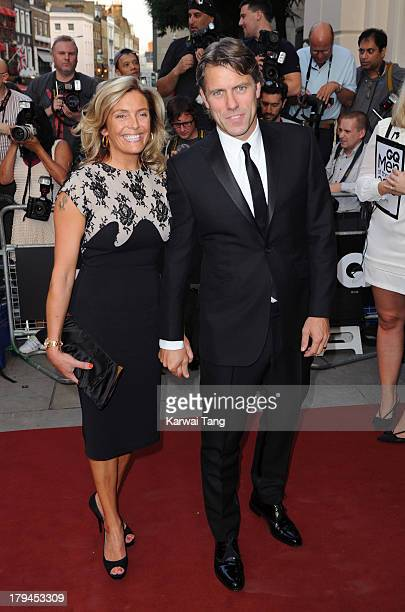 John Bishop and wife Melanie Bishop attend the GQ Men of the Year awards at The Royal Opera House on September 3 2013 in London England