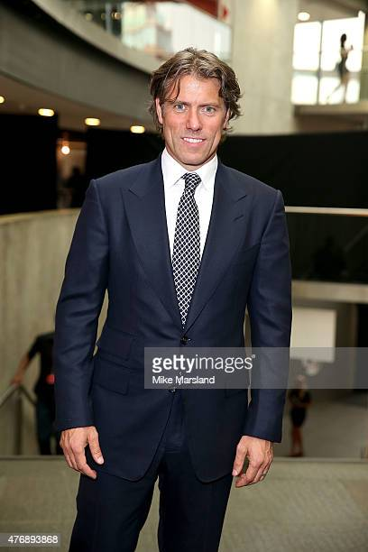 John Bishop attends One For The Boys Fashion Ball hosted by Samuel L Jackson uniting men against cancer to kick start London Collections Men at The...