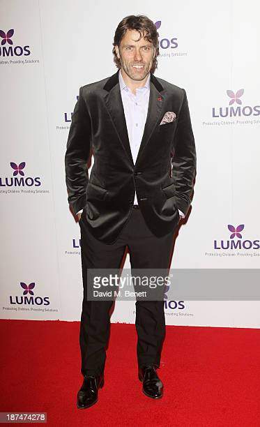 John Bishop attends the Lumos fundraising event hosted by JK Rowling at The Warner Bros Harry Potter Tour on November 9 2013 in London England