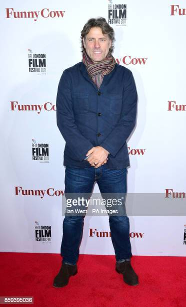 John Bishop attends the premiere of Funny Cow as part of the BFI London Film Festival at Vue West End Leicester Square London