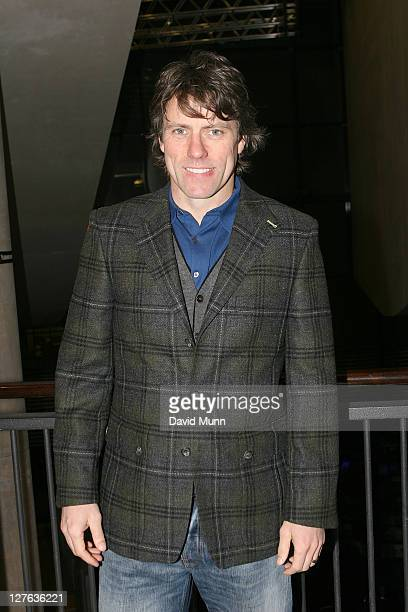 John Bishop attends the premiere of 'Route Irish' at FACT on March 7 2011 in Liverpool England