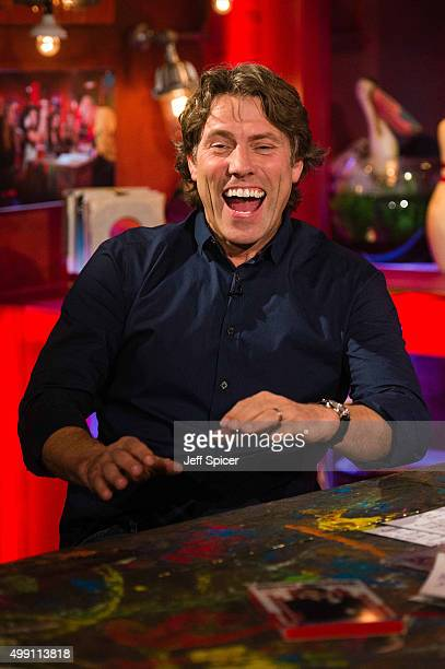 John Bishop during a live broadcast of 'TFI Friday' on November 27 2015 in London England
