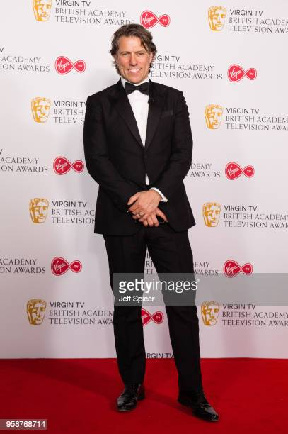 John Bishop poses in the press room at the Virgin TV British Academy Television Awards at The Royal Festival Hall on May 13 2018 in London England