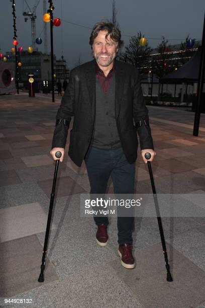 John Bishop seen atrending Soho House White City launch party on April 11 2018 in London England