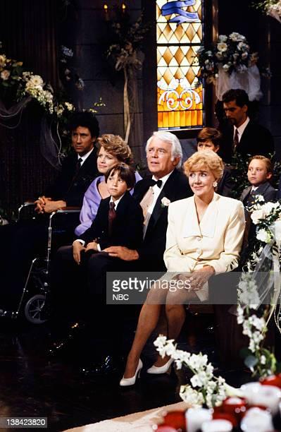 LIVES 'John Black Isabella Toscano Wedding' Pictured Charles Shaughnessy as Shane Donovan Mary Beth Evans as Dr Kayla Brady Scott Groff as Shawn...