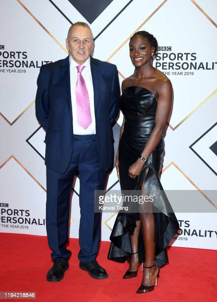 John Blackie and Dina AsherSmith attend the BBC Sport Personality of the Year 2019 at PJ Live Arena on December 15 2019 in Aberdeen Scotland