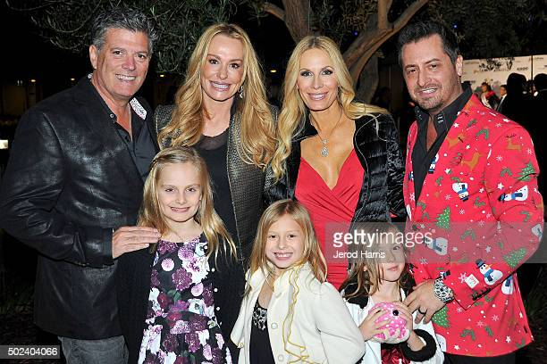 John Bluher Taylor Armstrong Peggy Tanous Micah Tanous and their kids attend the OC Christmas Extravaganza Concert and Ball at Christ Cathedral on...