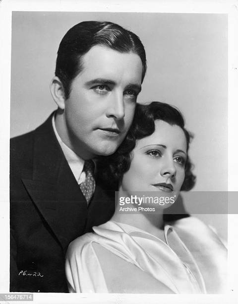 John Boles and Irene Dunne in publicity portrait for the film 'Back Street' 1932