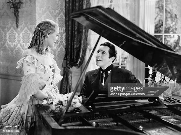 John Boles as Carl Hausmann and Gloria Stuart as Lucy Hausmann in the 1934 film Beloved
