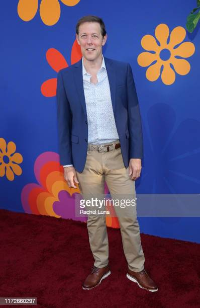 John Bolton attends the premiere of HGTV's A Very Brady Renovation at The Garland Hotel on September 05 2019 in North Hollywood California