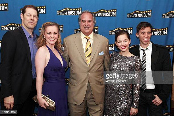 John Bolton Jennifer Evans Stewart F Lane Jessica Grove and Kevin Cahoon attend the Theatre Museum Awards at The Players Club on May 17 2010 in New...