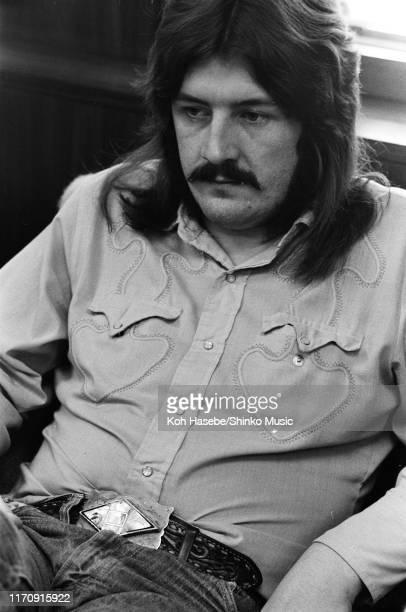 John Bonham of Led Zeppelin, at the Hiroshima City Hall, Hiroshima, Japan, 26th September 1971.