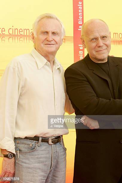 John Boorman, President of the Jury and Marco Muller, Director of 2004 Venice Film Festival