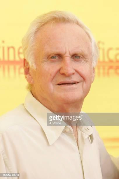 John Boorman, President of the Jury during 2004 Venice Film Festival - Jury Photo Call at Casino in Venice Lido, Italy.