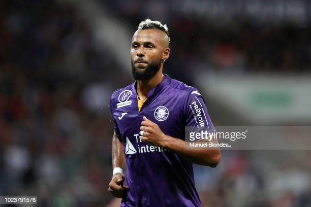 John Bostock of Toulouse during Ligue 1 match between Toulouse and Nimes on August 25 2018 in Toulouse France