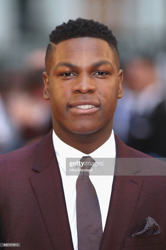 John Boyega arriving at the 'Detroit' European Premiere at The Curzon Mayfair on August 16, 2017 in London, England.