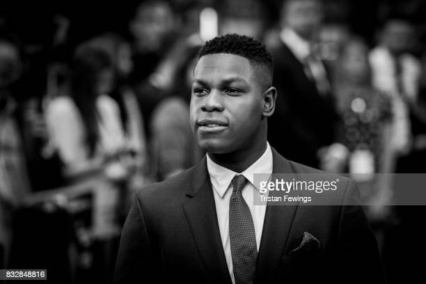 John Boyega arriving at the 'Detroit' European Premiere at The Curzon Mayfair on August 16 2017 in London England
