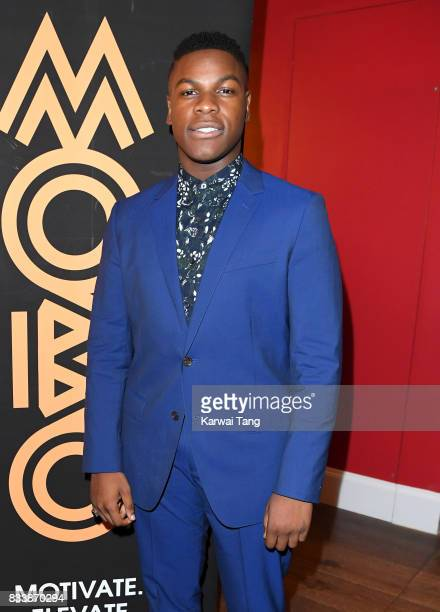 John Boyega attends a screening of 'Detroit' in association with MOBO at Ham Yard Hotel on August 17 2017 in London England