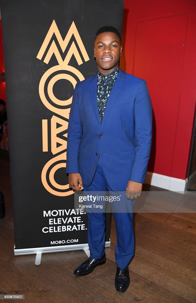 John Boyega attends a screening of 'Detroit' in association with MOBO at Ham Yard Hotel on August 17, 2017 in London, England.