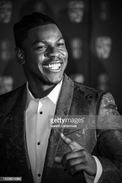 John Boyega attends the EE British Academy Film Awards 2020 at Royal Albert Hall on February 02 2020 in London England