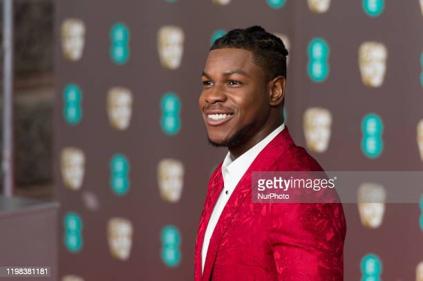 John Boyega attends the EE British Academy Film Awards ceremony at the Royal Albert Hall on 02 February, 2020 in London, England.