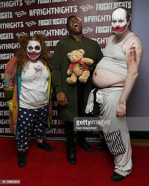 John Boyega attends the launch of Thorpe Park's Fright Nights at Thorpe Park on October 6 2016 in Chertsey England
