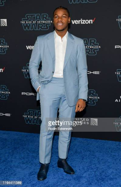 John Boyega attends the Premiere of Disney's Star Wars The Rise Of Skywalker on December 16 2019 in Hollywood California