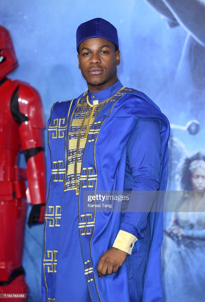 """Star Wars: The Rise of Skywalker"" European Premiere - Red Carpet Arrivals : News Photo"