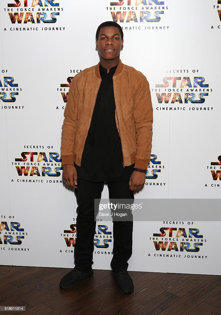 """Secrets of the Force Awakens: A Cinematic Journey"" - UK Gala Screening - VIP Arrivals"