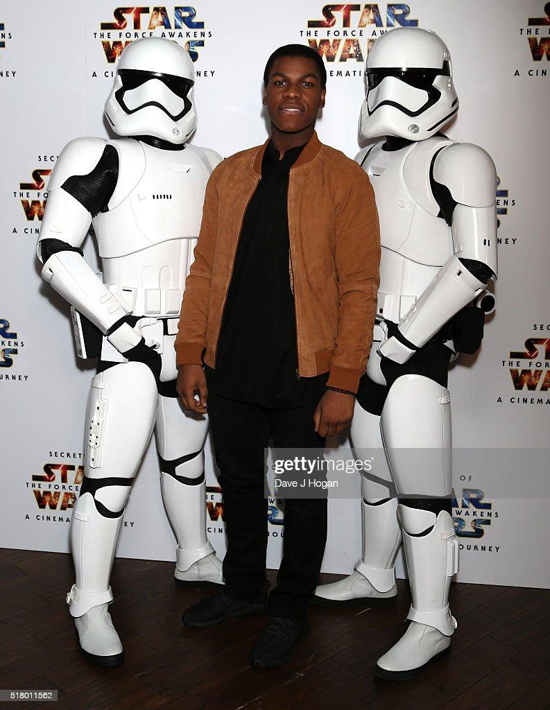 """Secrets of the Force Awakens: A Cinematic Journey"" - UK Gala Screening - VIP Arrivals : News Photo"