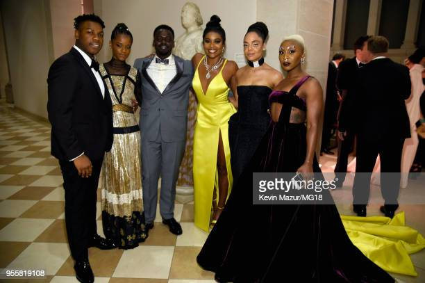 John Boyega Letitia Wright Daniel Kaluuya Gabrielle Union Tessa Thompson and Cynthia Erivo attends the Heavenly Bodies Fashion The Catholic...
