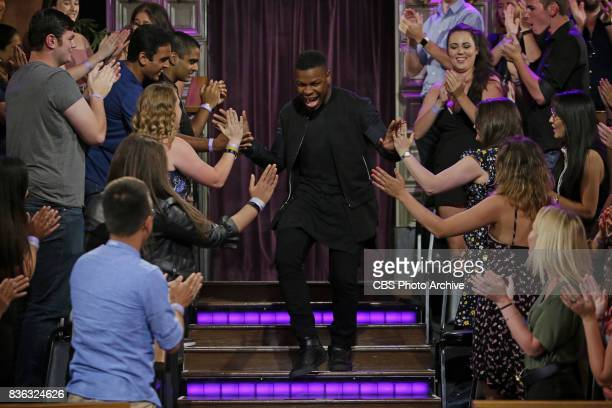 John Boyega visits 'The Late Late Show with James Corden' Tuesday August 8 2017 On The CBS Television Network