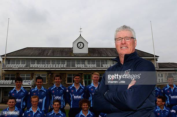 John Bracewell Director of Cricket for Gloucestershire poses for a portrait during the Gloucestershire CCC photocall at the County Ground on April 3...
