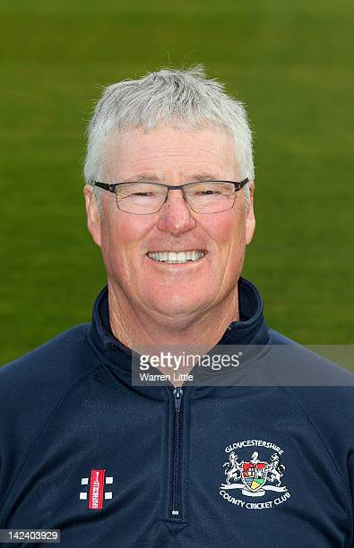 John Bracewell Director of Cricket of Gloucestershire poses for a portrait during the Gloucestershire CCC photocall at the County Ground on April 3...