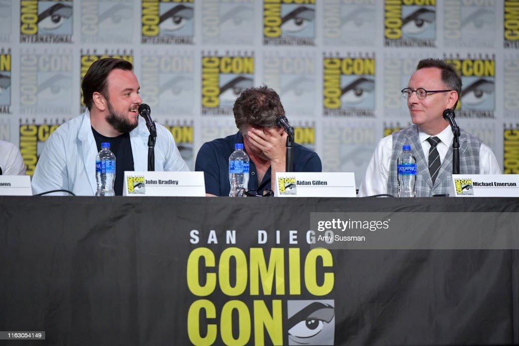2019 Comic-Con International - Entertainment Weekly: Brave Warriors : News Photo