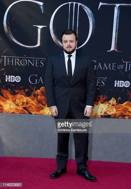 John Bradley attends the Game Of Thrones Season 8 Premiere on April 03 2019 in New York City