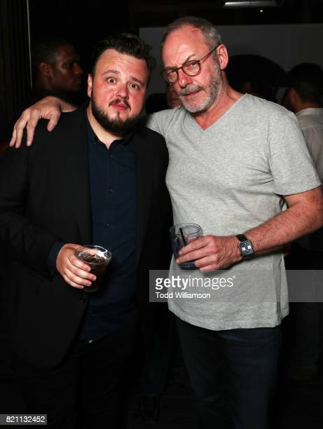 John BradleyWest and Liam Cunningham at Entertainment Weekly's annual ComicCon party in celebration of ComicCon 2017 at Float at Hard Rock Hotel San...