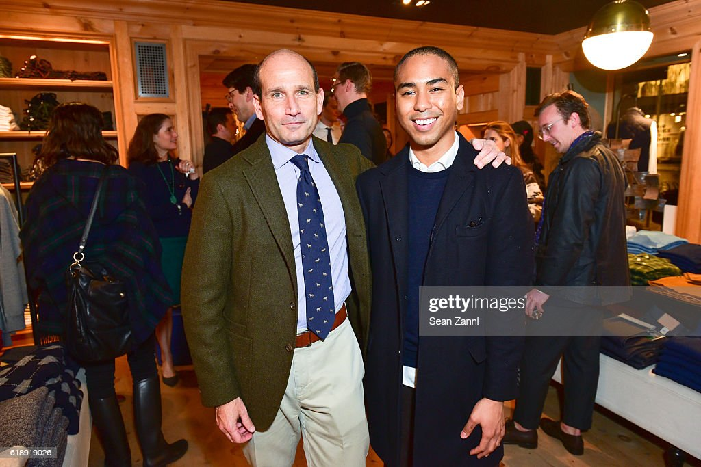 "Frank Muytjens & J.Crew Celebrate David Coggins New Book ""Men and Style"""