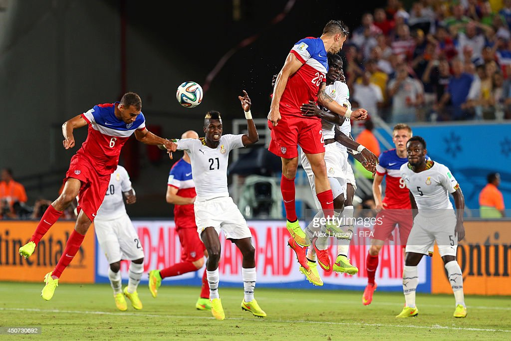 Ghana v USA: Group G - 2014 FIFA World Cup Brazil : News Photo