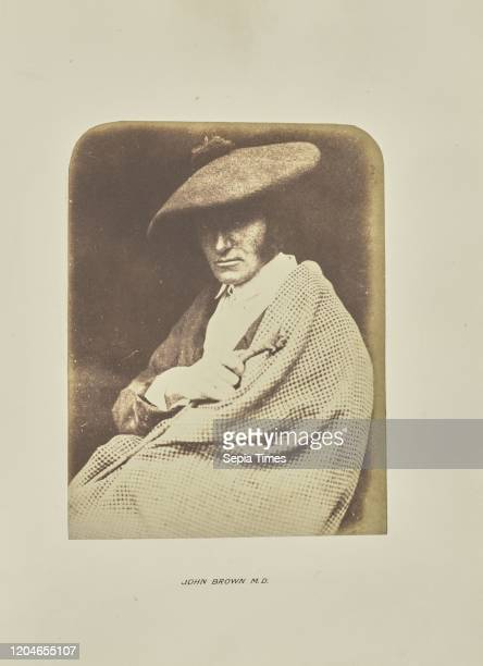 John Brown M D Hill Adamson Scotland 18431848 Salted paper print from a paper negative 20 _ 152 cm