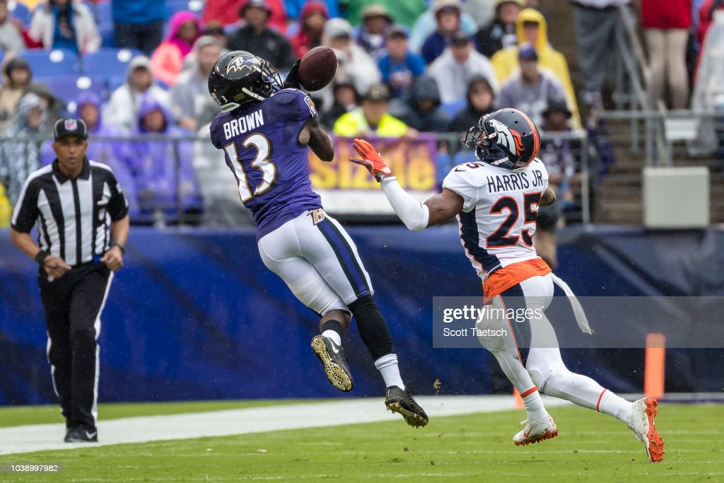 Denver Broncos v Baltimore Ravens : Fotografia de notícias