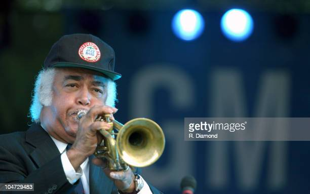 John Brunious of Preservation Hall Jazz Band during General Motors presents The 26th Annual Atlanta Jazz Festival in Atlanta Georgia United States